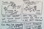 Hilarious Fake NFL Playbook Drawings from Deadspin