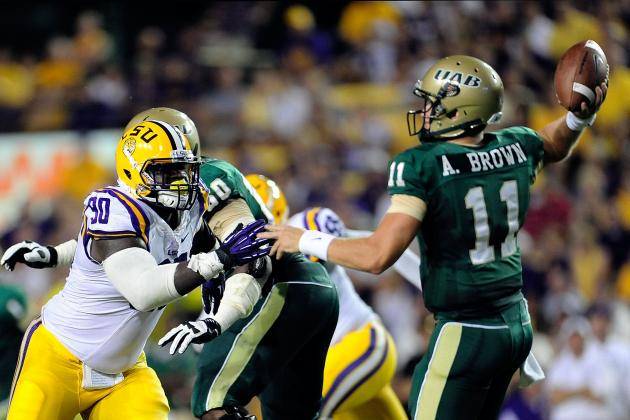 Film Study: LSU Pass Rush Has Been Effective Through Two Games