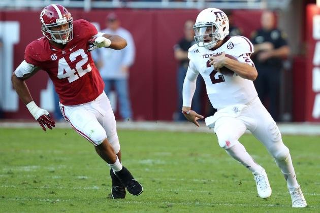 NFL Draft Prospect Matchups to Watch in Texas A&M vs. Alabama