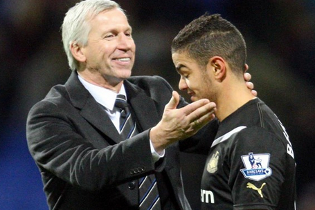 Newcastle United Boss Alan Pardew Challenges Hatem Ben Arfa