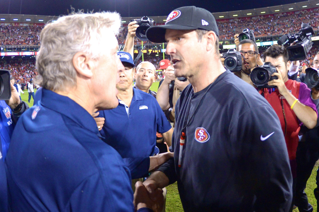 Hatred Between Jim Harbaugh And Pete Carroll Is Real