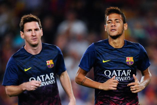 Barcelona Seek Method to Match Lionel Messi with Neymar