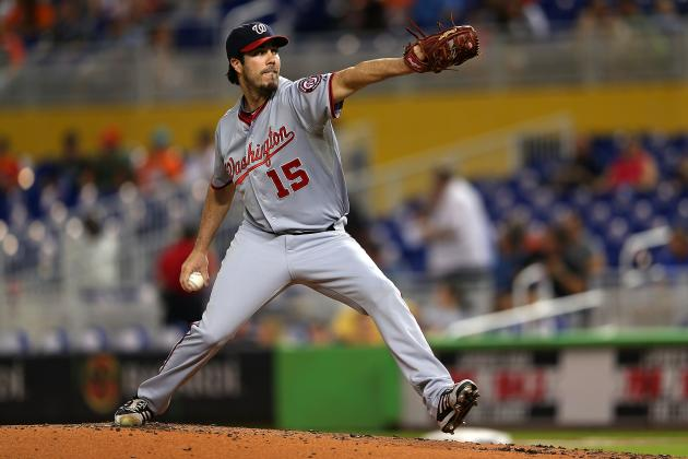 Report: New York Yankees Discussed Acquiring Dan Haren from Washington Nationals