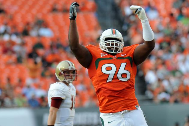 Canes Defensive Tackle Curtis Porter Impresses