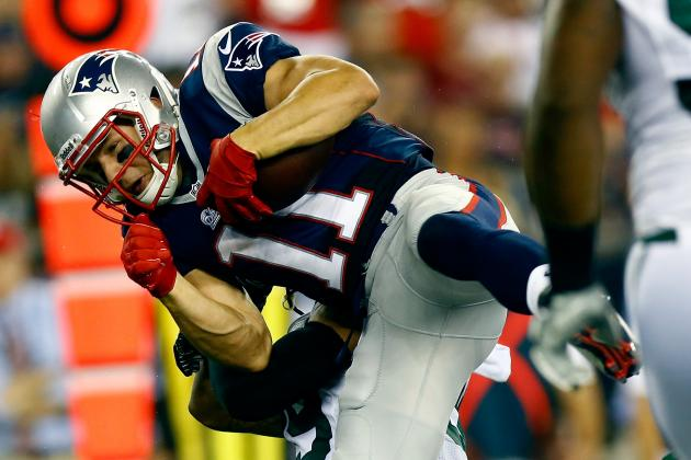 Danny Amendola Injury: Ranking Fantasy Impact of Patriots WRs in Star's Absence