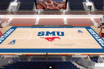 Video: SMU Unveils New Moody Center Court