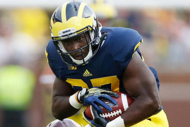 U-M Wants More Reps for Green, but 'Old Man' Toussaint Has Been Rock Solid