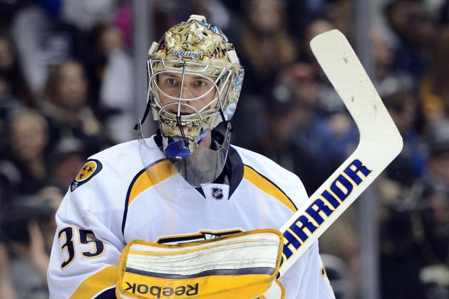 Rinne Manages to Go Full Speed as Preds Camp Kicks off