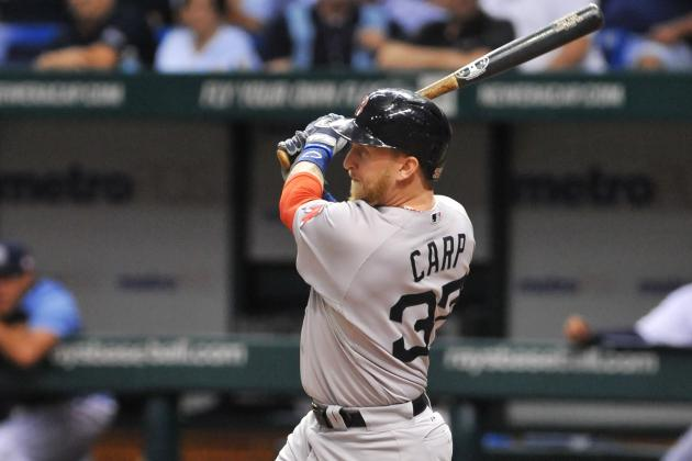 Carp Hitting Cleanup, Victorino Returns for NYY Opener