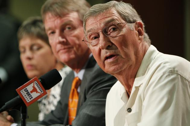 Texas Denies Reports That AD Deloss Dodds Will Resign at End of Season