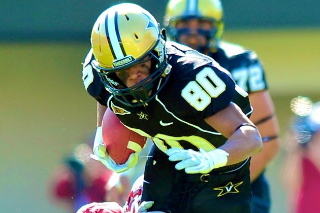 Vanderbilt Wideout Chris Boyd Pleads Guilty to Obstruction in Rape Case
