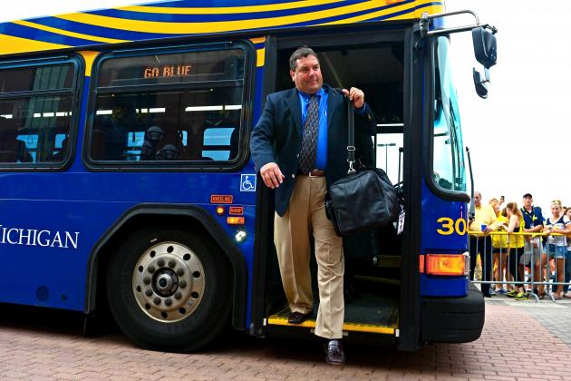 Michigan's Brady Hoke to Give 5,000 Donuts to Students