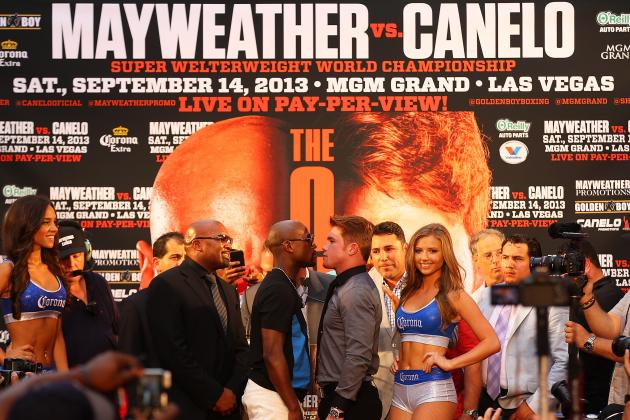 Mayweather vs Canelo: Keys for Huge Fight to Meet the Towering Hype