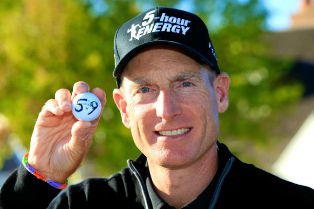 Jim Furyk Shoots 6th-Ever 59 in 2nd Round of BMW Championship