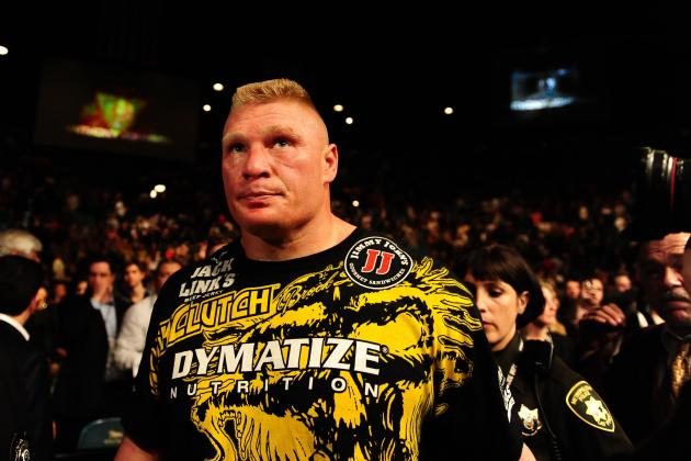Why We Want Brock Lesnar to Fight at Least Once More Inside the Octagon
