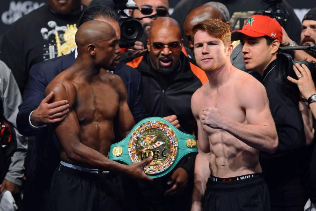 Mayweather vs. Canelo: Tale of the Tape and Last-Minute Details for Superfight
