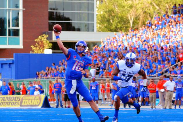 Air Force vs. Boise State: Live Scores and Highlights