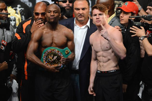 Floyd Mayweather vs. Canelo Alvarez: Celebrities Weigh in on Gambling Odds