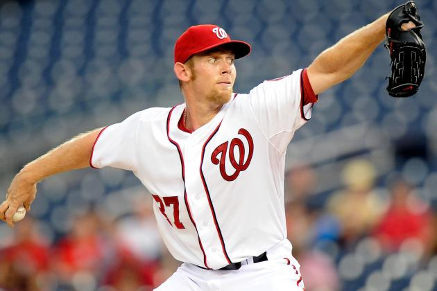 Nats' Strasburg (Forearm) Won't Start Friday