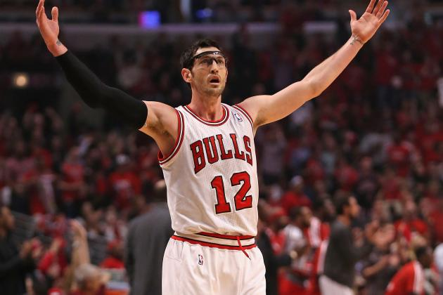Chicago Bulls Players Who Could Be Losing Playing Time in 2013-14