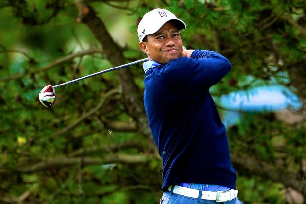 Tiger Woods at BMW Championship 2013: Day 2 Recap and Twitter Reaction