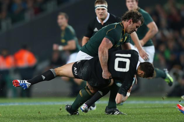 Rugby Championship 2013 Results: Score &  Recap for New Zealand vs. South Africa