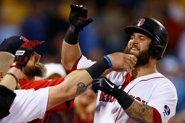 Mike Napoli Returns to Lineup Today vs. Yankees