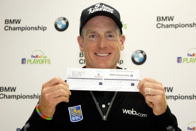 Jim Furyk Responds to Presidents Cup Omission with 59 in FedEx Cup Playoffs