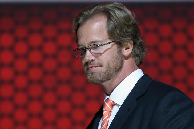 Pronger Balancing Life as Scout and NHLPA Member