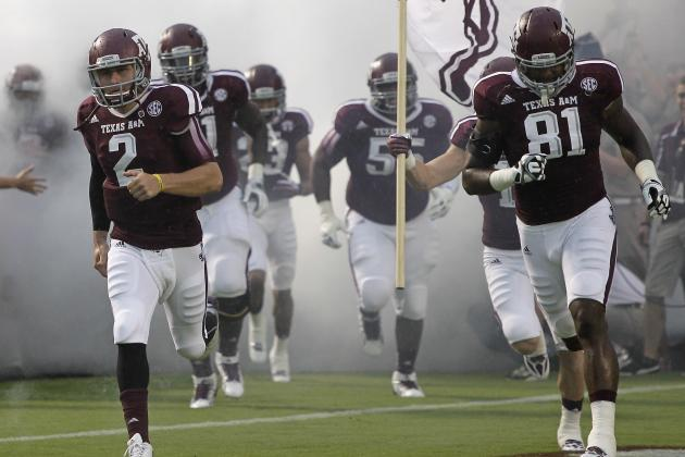 Johnny Manziel Must Rely on Texas A&M's Ground Attack vs. No. 1 Alabama