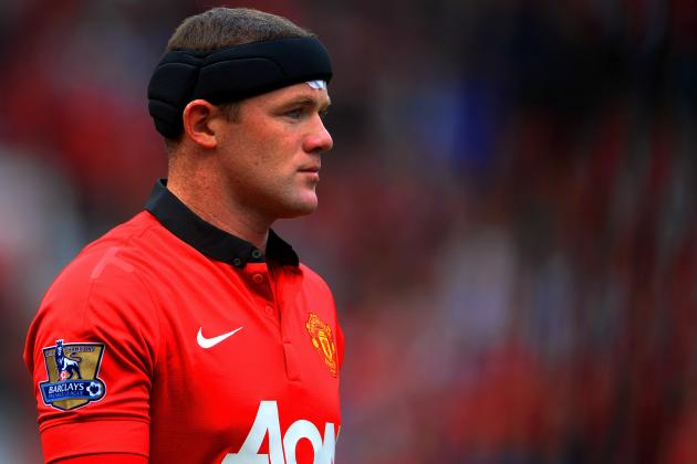 GIF: Wayne Rooney Scores Stunning Free-Kick for Manchester United vs. Palace