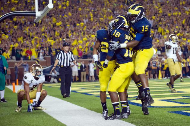 Akron vs. Michigan:  Live Game Grades and Analysis for the Wolverines