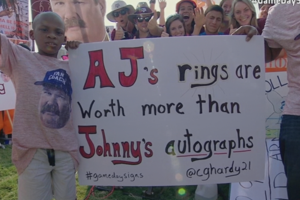 Best Signs from ESPN's College GameDay Week 3