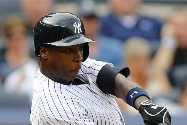 Yankees Scratched Alfonso Soriano Due to Sprained Thumb