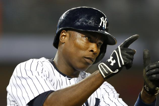 Alfonso Soriano Scratched from Lineup with Sprained Right Thumb