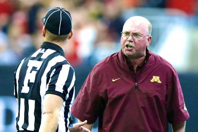 Minnesota Head Coach Jerry Kill Reportedly Suffered Seizure on Sideline