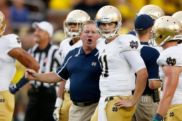 Notre Dame vs. Purdue: Live Game Grades and Analysis for the Fighting Irish