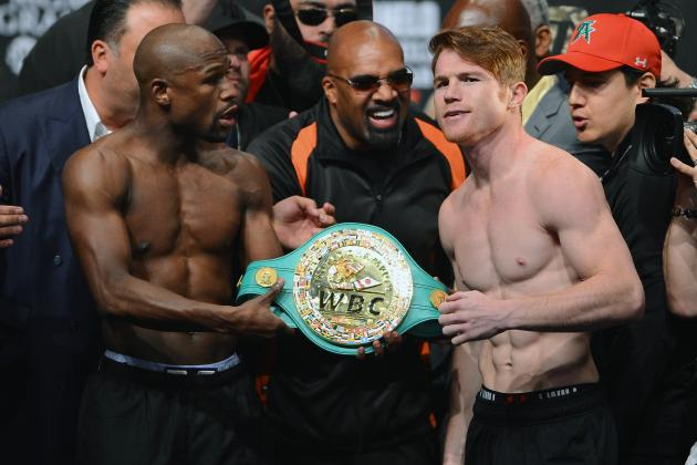 Mayweather vs. Canelo Start Time: Key Info for Saturday Night's Fight