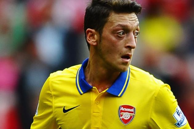 Grading Mesut Ozil's Debut Performance for Arsenal