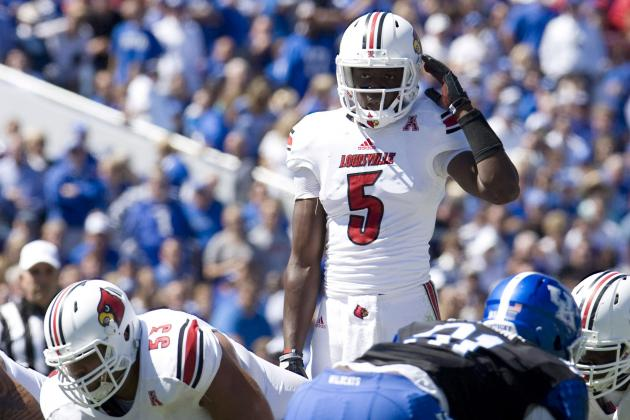 Louisville vs. Kentucky: Teddy Bridgewater Gets the W but Hurts Heisman Hopes