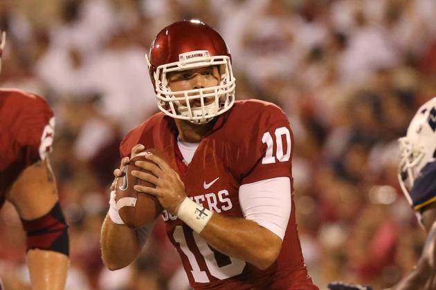 Blake Bell Should Remain Oklahoma QB After Breakout Performance vs. Tulsa