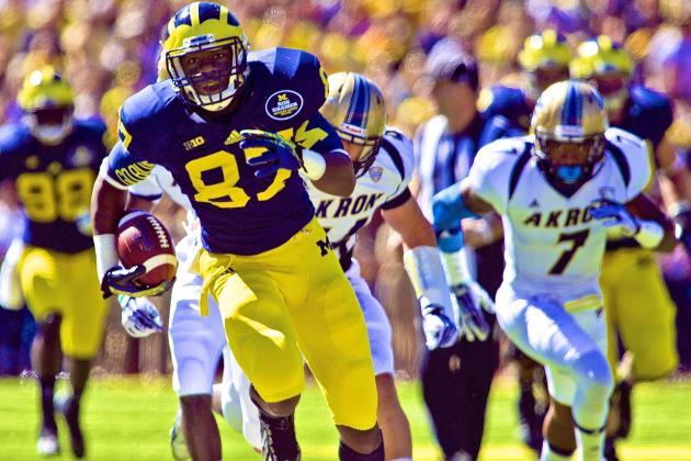 Akron vs. Michigan: Score, Grades and Analysis