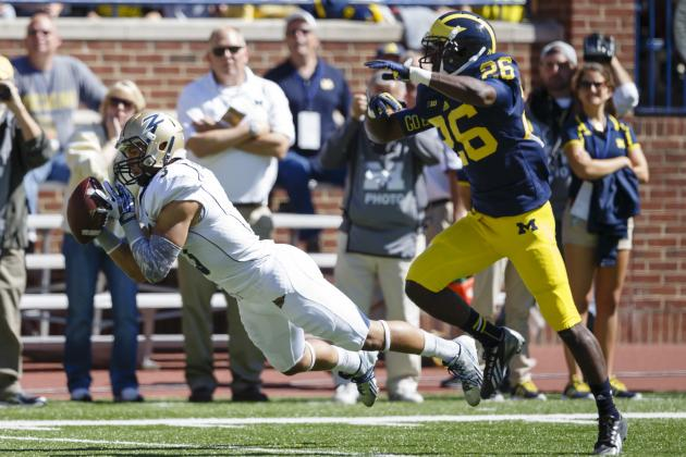 Akron vs. Michigan: Defense Slashed by the Spread as Wolverines Escape Zips