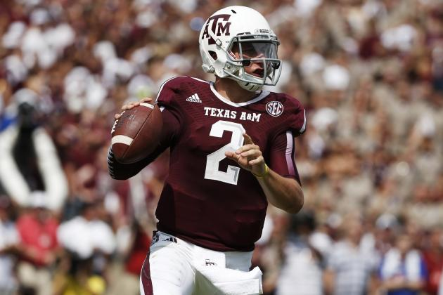 Johnny Manziel's Heisman Hopes Hinge on 2nd Half of Alabama Game