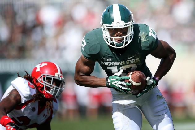Michigan St Routs Youngstown St 55-17