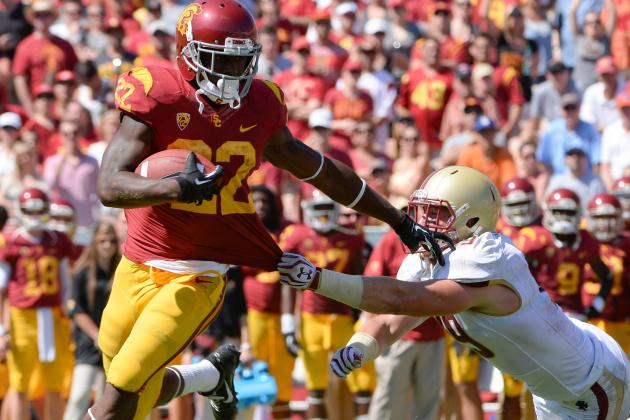 Boston College vs. USC 2013 Game Recap: Trojans Dominate in 35-7 Win