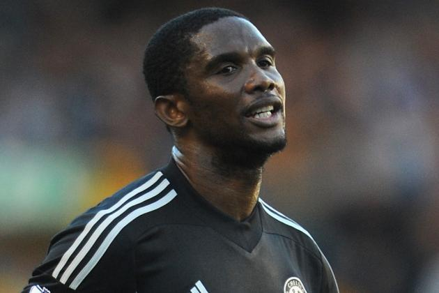 Breaking Down Samuel Eto'o's Chelsea Debut in Everton Loss