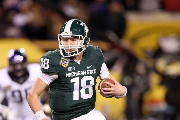 Dantonio: No More QB Competition, Cook Is Starter