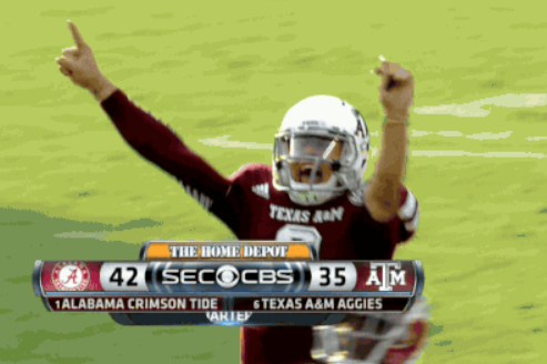 Johnny Manziel Throws Unthinkable 95-Yard Touchdown Pass to Mike Evans