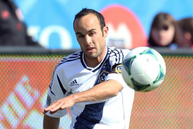 Landon Donovan Injured; off at Halftime for Galaxy